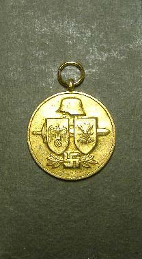 German WW11 - repro - Spanish Volunteer Medal, the Blue Division Medal