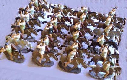 Hinchliffe figures, Roman Light Cavalry