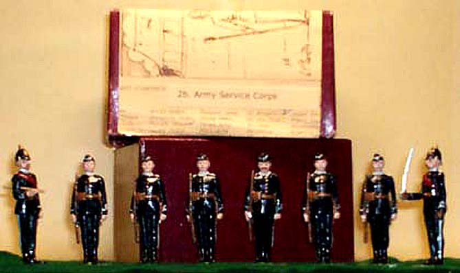 Army Service Corps - Count's box with Certificate of Origin
