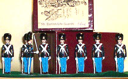 Danish Life Guards POA in Blue - Count's box with Certificate of Origin