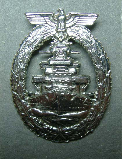 German Navy High Seas Fleet Badge WW2 - Repro