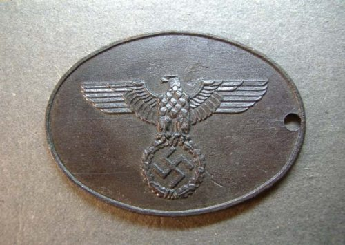 German Nazi Badge WW11 - Repro - State Criminal Police