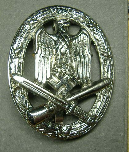German Nazi SS WW2 - General Assault Badge - Repro