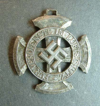 German Nazi 1938 - Air Defence Badge - Repro