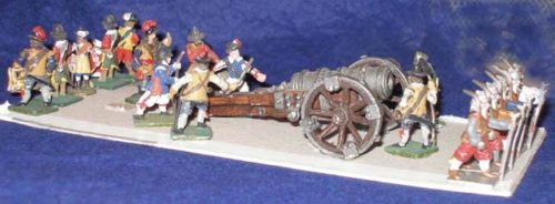 25mm English Civil War, Artillery x 17