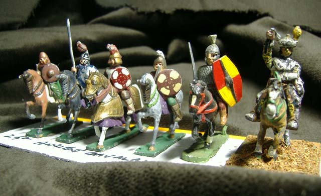 25mm Ancient Cavalry x 6