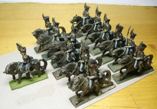 25mm French Napoleonic Cavalry x 13
