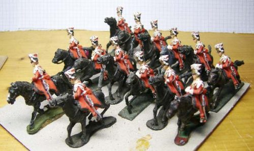 25mm French Napoleonic Cavalry x 14
