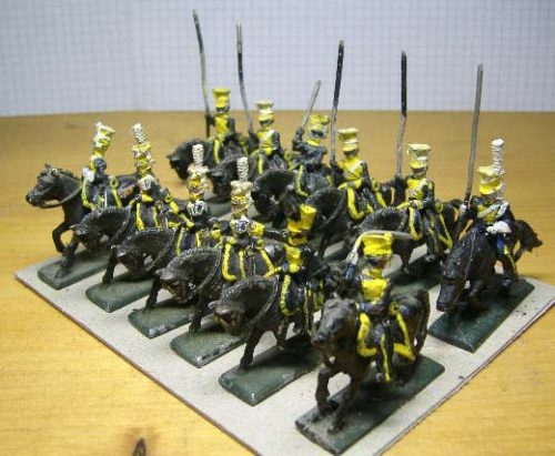 25mm French Napoleonic Cavalry x 12