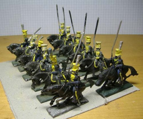 25mm French Napoleonic Cavalry x 12 (2)