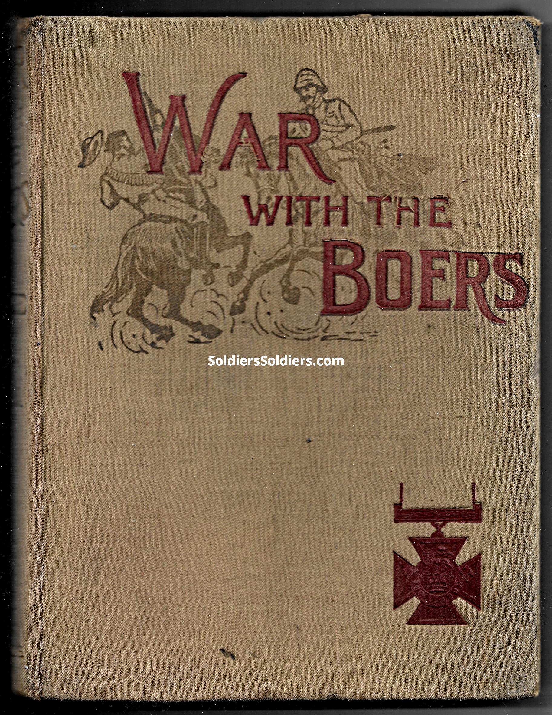 War with the Boers cover